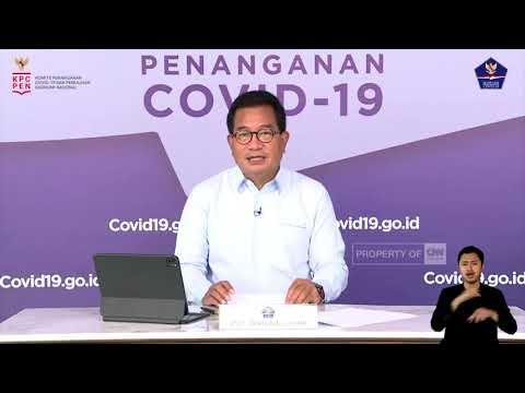 Perkembangan Penanganan Covid-19 di Indonesia per 11 Juni 2021