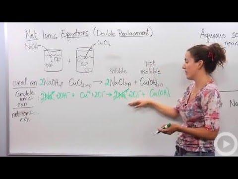 Net Ionic Equation Calculator | Net Ionic Equation Calculator