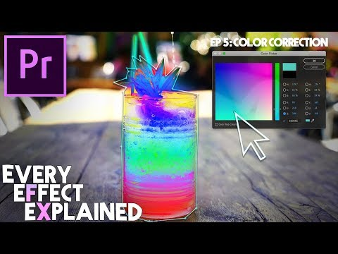Every Effect in Adobe Premiere Pro Explained - Ep 5 (Color Correction)