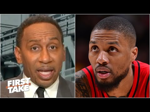 'OH MY GOD!' - Stephen A. reacts to Damian Lillard scoring 55 points in a loss | First Take