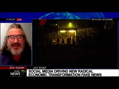 Stuart Jones on UCT studying social media campaigns geared to misinform