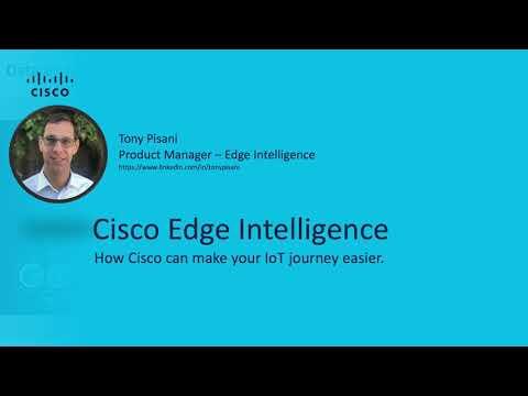 Cisco Edge Intelligence - Cisco IoT DEMO