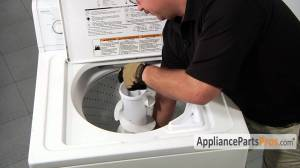 Washer Filter Plug Kit (part #285868)  How To Replace