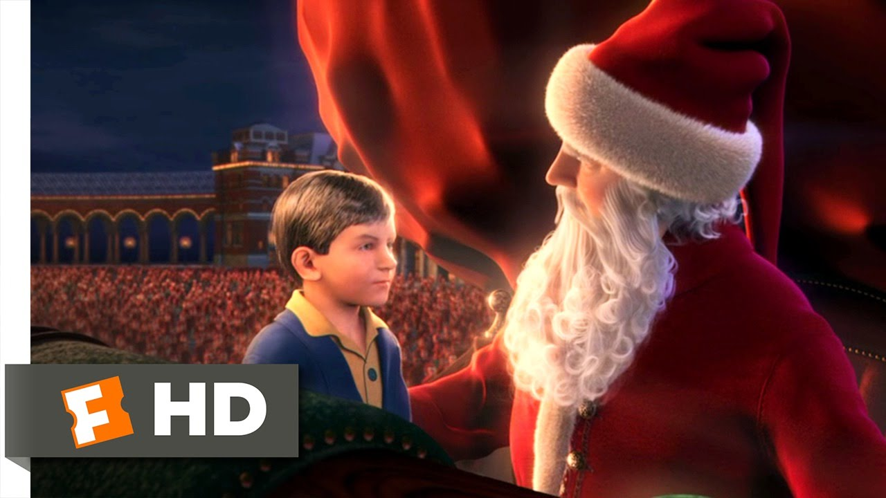 The Polar Express 45 Movie CLIP The First Gift Of