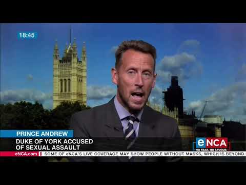 Duke of York accused of sexual assault
