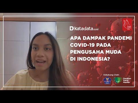Apa Dampak Pandemi Covid-19 Pada Pengusaha Muda di Indonesia | Katadata Indonesia