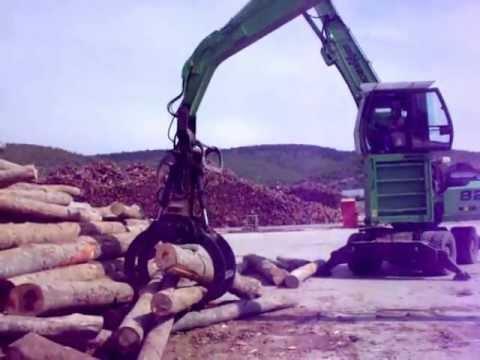 Kastamonu orman işletmesine İmal Ettiğimiz Tomruk Yükleyici