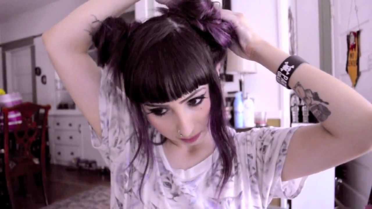 Double Bun Hair Tutorial YouTube
