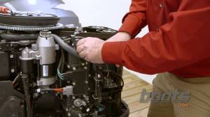 How to Change the Thermostat on an Outboard Engine  YouTube