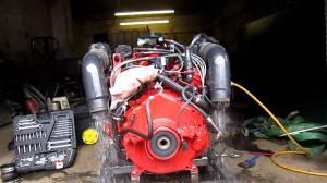 Volvo 57GXI Engine  YouTube