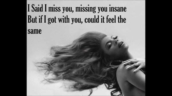 I miss you-Beyonce lyrics - YouTube
