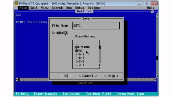Blog About Shareware: QBASIC PROGRAMMING LANGUAGE