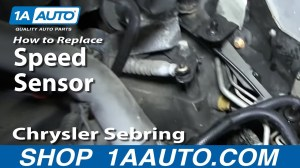 How To Install Replace Speedometer Transmission Output Sensor Chrysler Dodge Automatic