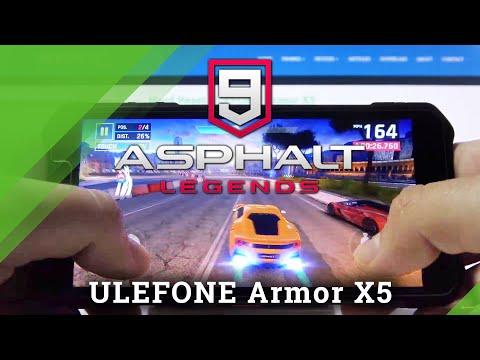 Gaming Performance Checkup on Ulefone Armor x5 - Asphalt 9 Gameplay