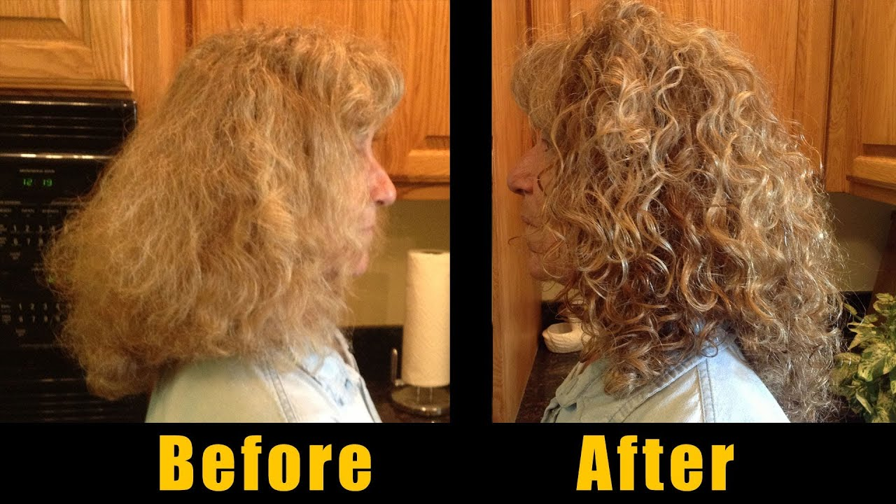 Styling Curly Hair Frans Easy Frizz Free Taming Routine