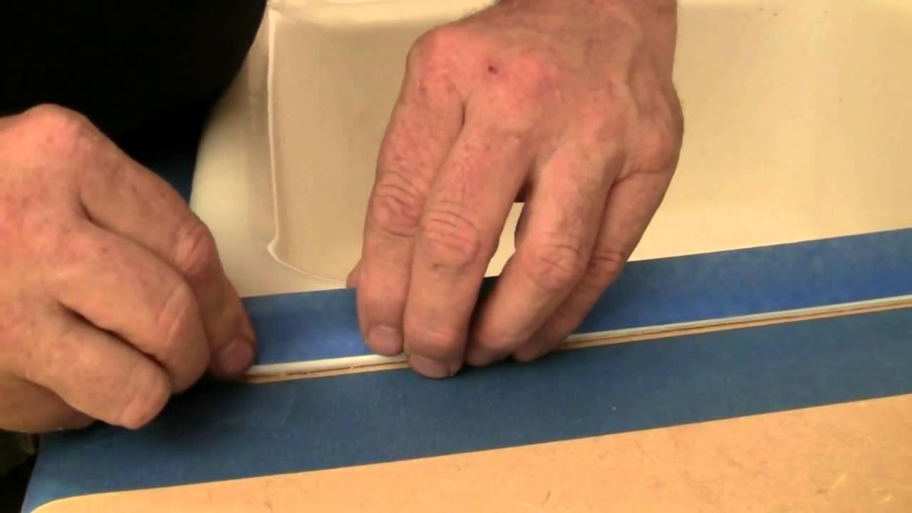 How To Caulk A Kitchen Sink YouTube