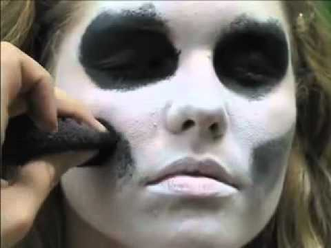 Skeleton Face Paint Easy 5 Min Tutorial
