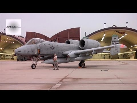 Four A-10 Warthogs' Last Launchs Before Retirement - Osan Air Base, Korea | AiirSource