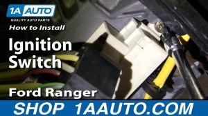 How To Install Replace Ignition Switch Ford Ranger 9504 1AAuto  YouTube