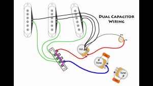 Stratocaster Mod Wiring  Dual Capacitors  YouTube