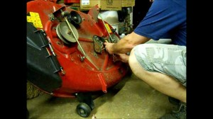 Mower belt tensioner repair & a question to the Garage Gang  YouTube