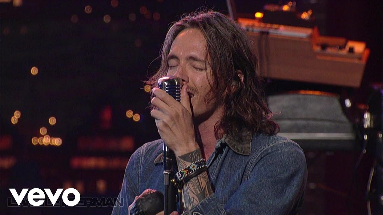Incubus Wish You Were Here Live On Letterman YouTube
