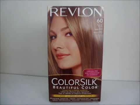 Copy Of Revlon Colorsilk 60 Dark Ash Blonde Hair Dye YouTube