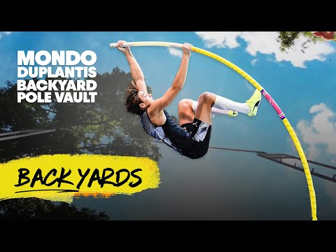 Is This The Ultimate DIY Project? Building A Pole Vaulting Training Ground In Your Own Backyard