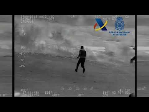 Incautadas 2,7 toneladas de hachís en Ayamonte