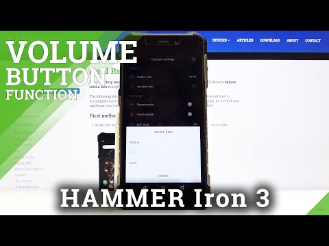 How to Change Volume Button Function in Hammer Iron 3 - Camera Settings