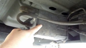 1999 Dodge Dakota 39L Magnum SLT EVAP Canister Location