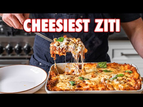 The Cheesiest Baked Pasta Ever (Baked Ziti 2 Ways)