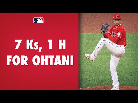 More Ks for Ohtani! Shohei Ohtani continues to dominate at plate and mound with 7 Ks in 5 innings