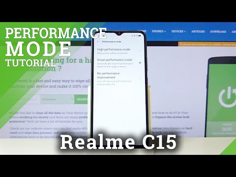 How to Enter Performance Mode in REALME C15 – High Performance Mode
