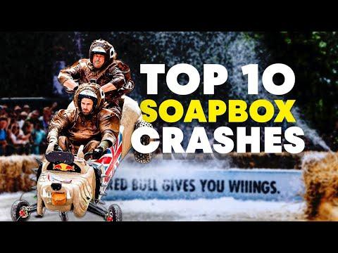 Top 10 London Soapbox Crashes | Red Bull Soapbox Race