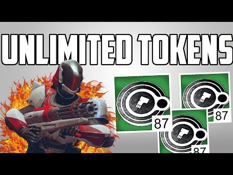 Destiny 2 New Exploit 1000 Faction Tokens Per Hour UNLIMITED TOKENS GLITCH