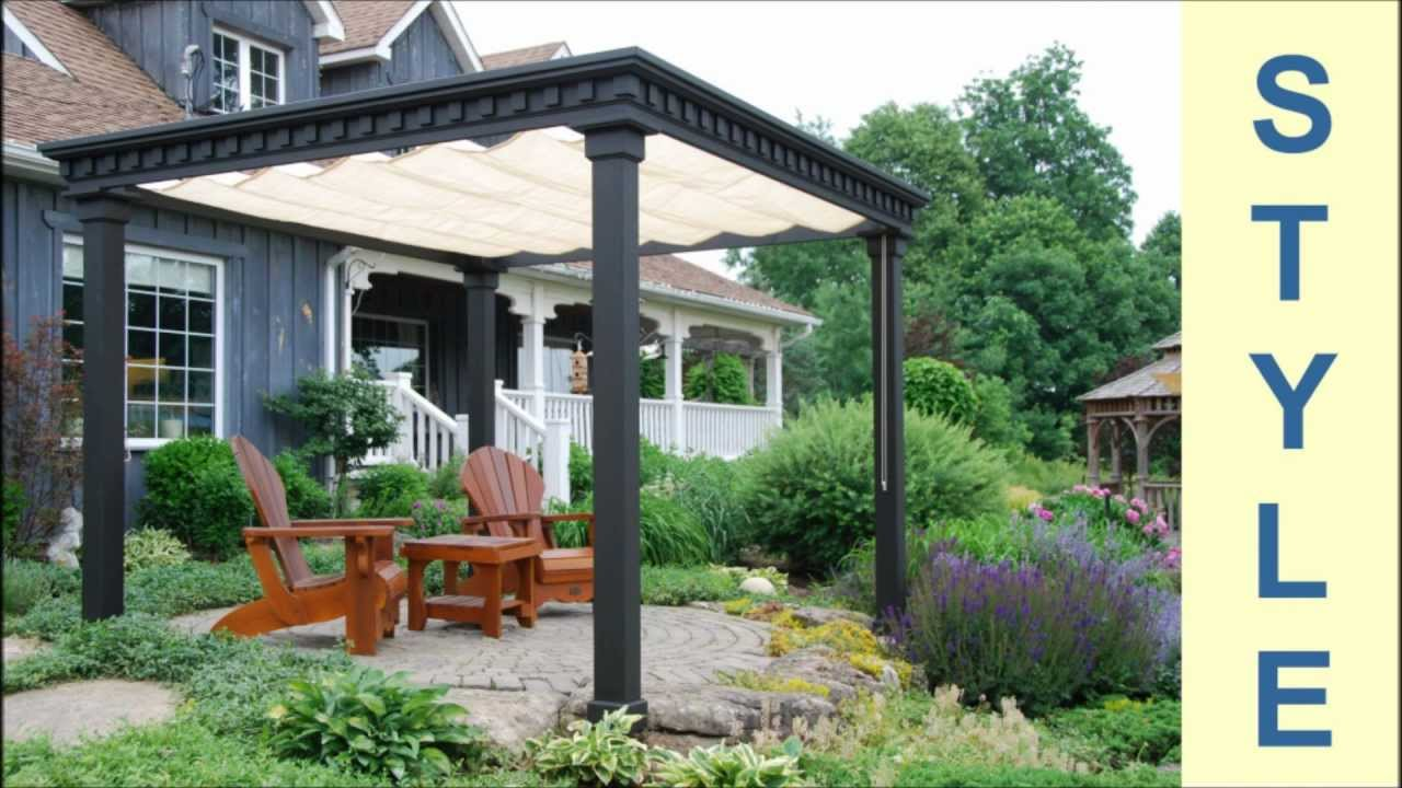 Gerrick Carpentry Pergola Victorian Youtube