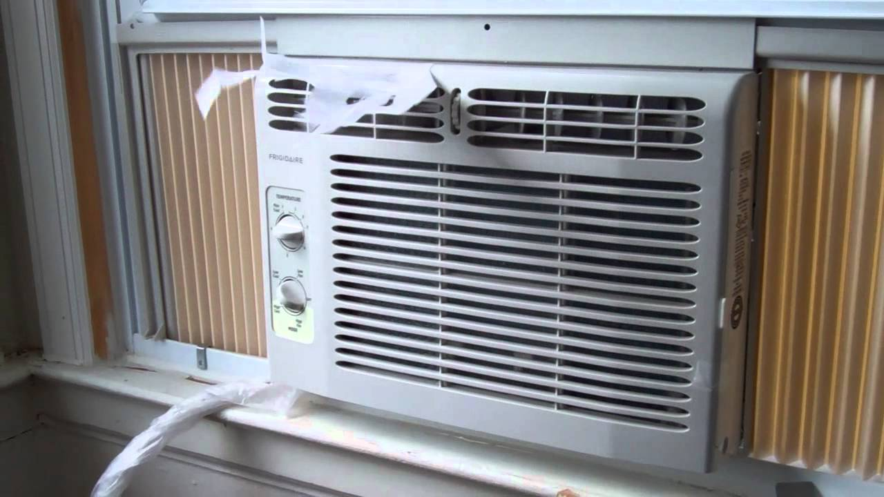 Smallest And Cheapest AC I Found For $120. Frigidaire AC