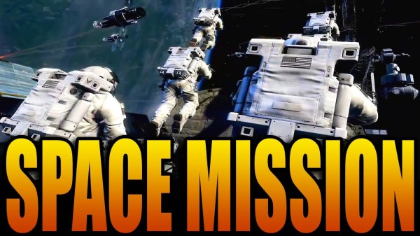 Call of Duty Ghosts SPACE MISSION Odin Station