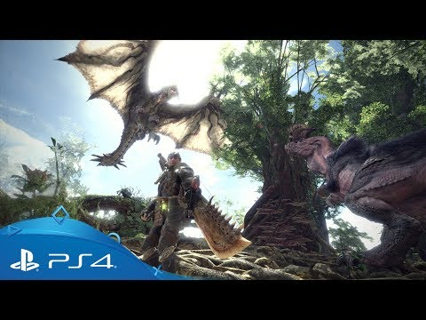 Monster Hunter  World   PS4 Games   PlayStation Monster Hunter  World   World Reveal Trailer   PS4