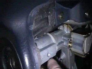 toyota corolla ignition lock cylinder and key, switch replacement  YouTube