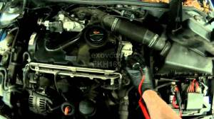 VW A4: BEW BRM Glow Plugs Quick Check (in engine)  YouTube