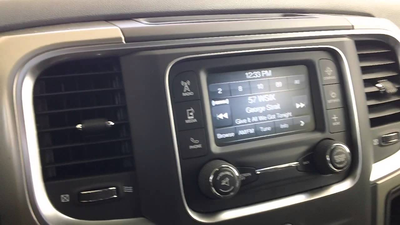 2013 Ram 1500 CD Player Location YouTube