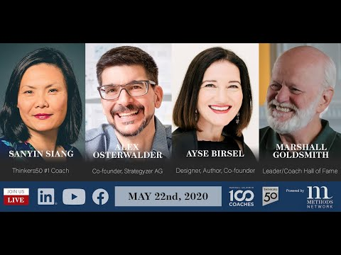 Design Your Life and Profession w  Ayse Birsel and Alex Osterwalder - 100 Coaches LIVE!