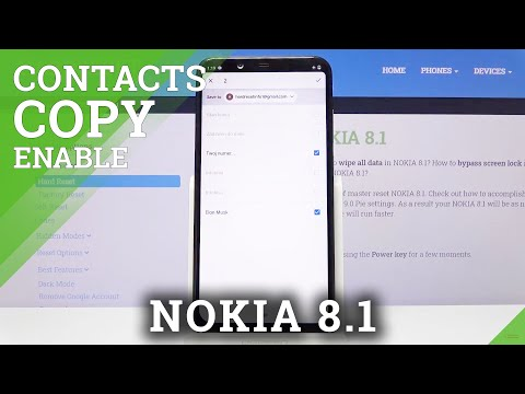 How to Copy Contacts on Nokia 8.1 – Transfer Numbers