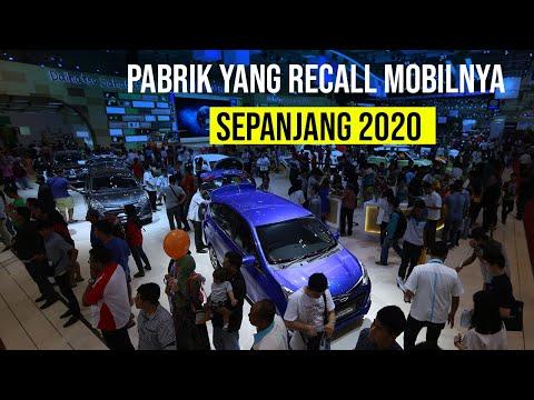 Sejumlah Produsen Melakukan Recall Mobil pada 2020