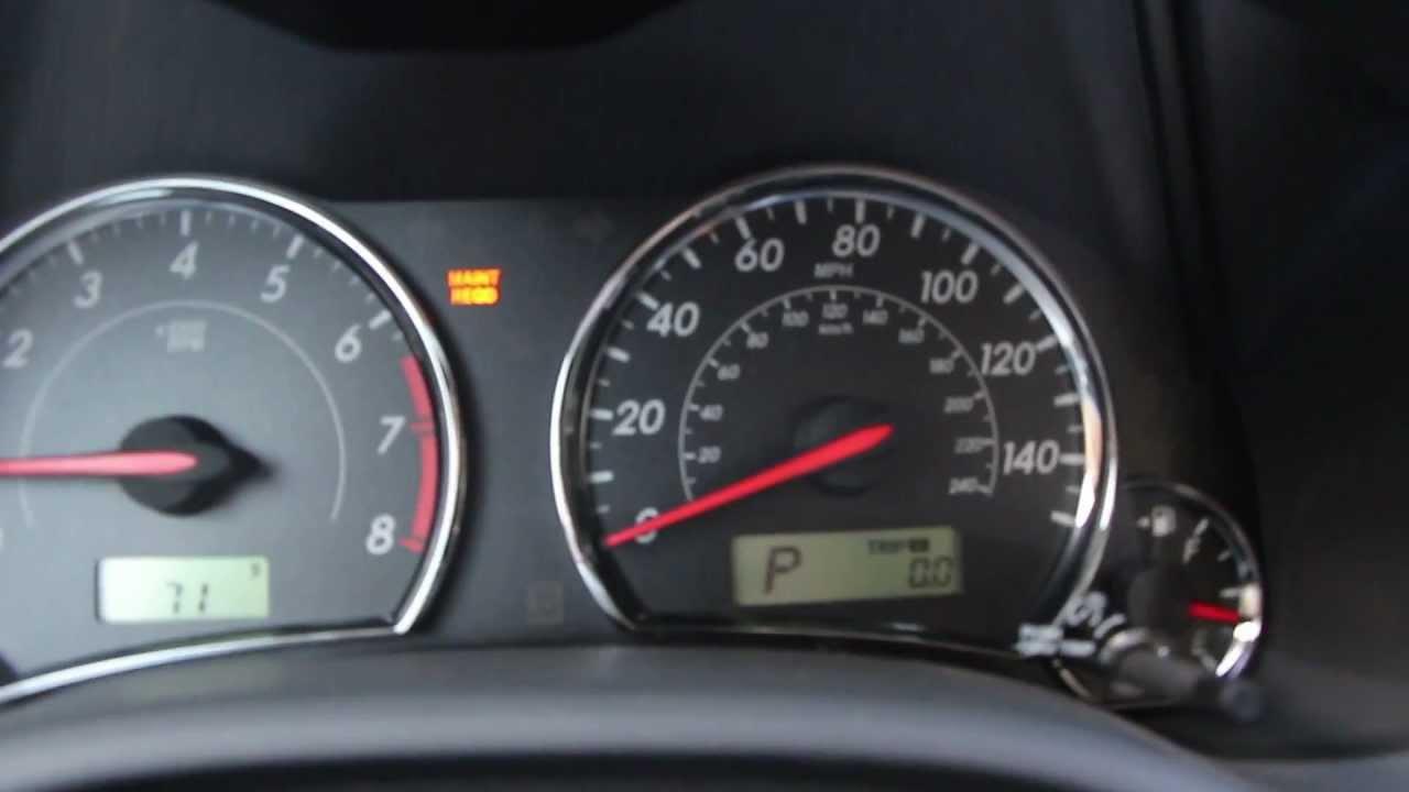 Reset Check Engine Light Toyota Corolla 2003 Www Lightneasy Net