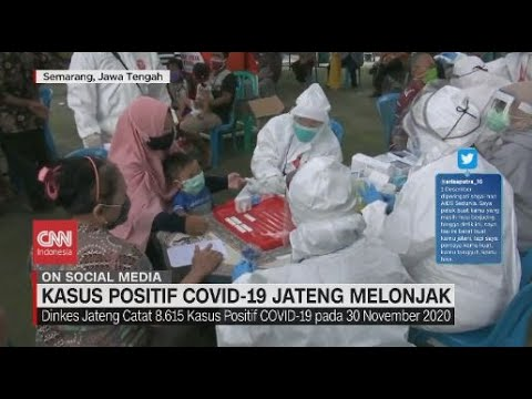 Kasus Covid-19 Jateng Melonjak