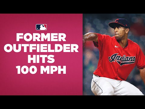 Former outfielder hits 100 MPH (!!) in pitching debut!! (Anthony Gose switched to pitcher in 2017)