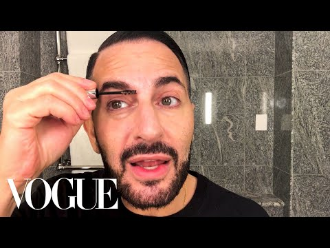 Marc Jacobs's Busy Day Routine With a Fierce Red Lip   Beauty Secrets   Vogue